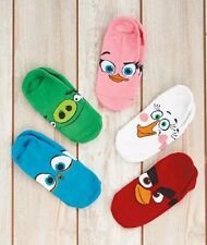 New Angry Birds Five(5)-Pair Socks Children socks SIZE 6-9 Stocking Stuffers