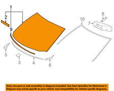 TOYOTA OEM 2013 Highlander-Windshield Glass 5610148275