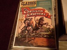 Classics Illustrated #20 The Corsican Brothers Hrn 78