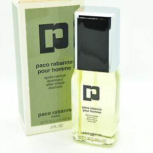 Paco Rabanne Pour Homme 90ml After Shave spray, Vintage