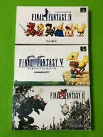 Super Famicom SNES Final Fantasy Boxed Manual cartridge Game Japan
