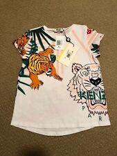 KENZO KIDS Abba Textured Faux Fur Sweatshirt 6 14 16 NWT $161