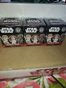 Star Wars Funko bobblehead mystery minis lot of 3 New In Box