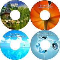 Peace Harmony Relaxation Music 4 CD Collection Healing Stress Relief Help Sleep