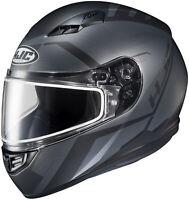 HJC Adult Black/Grey CS-R3 Faren Full Face Dual Lens Snowmobile Helmet Snow 2020