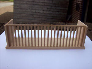 12th Scale Dolls House Balcony (Medium 8 Inches Wide)