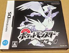 Pokemon Black Japanese version USED Japan Pocket Monsters Black Nintendo DS