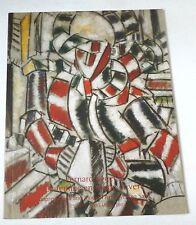 Fernand Leger - La femme en rouge et vert    2003 CHRISTIES AUCTION CATALOGUE