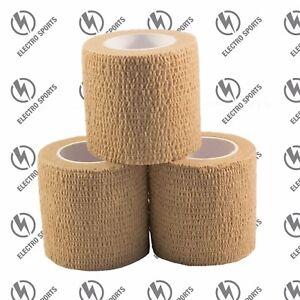 Cohesive Bandage - 3 Rolls x 50mm x 4.5m