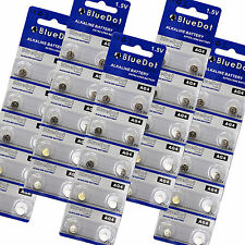 50-pack AG4 SR626SW 626 377 LR626 SR626 626A BlueDot Small Watch Battery USA