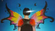 """New Pkg: Costume Mates FIERY DAWN FAERIE/Fairy WINGS 45""""X23"""" Stage Or Pretend"""