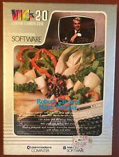 Commodore VIC-20 - Robert Carrier's Menu Planner