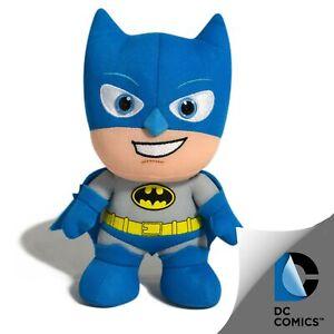 DC COMICS BATMAN BLUE GREY SUPERHERO KIDS FUN PLUSH TOY 15cm **FREE DELIVERY**