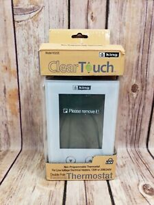 KING K322E ClearTouch Electronic Non-Programmable Thermostat