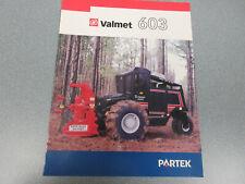 Valmet 603 Feller Buncher Brochure 6 page
