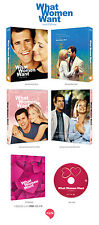 What Women Want (2017, Blu-ray) Full Slip Case Limited Edition / NOVA / 700 copi