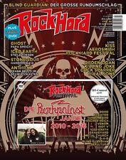 """ROCK HARD #362 - Juli 2017 + """"RH Festival-Die Rockpalast Jahre 2010-2016"""" DVD"""