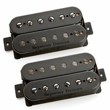 Seymour Duncan Pegasus & Sentient Humbucker Bridge Neck Guitar Pickup Set Black