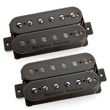 Seymour Duncan Pegasus & Sentient Humbucker Bridge Neck Guitar Pickup Set Black