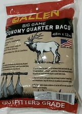 "Allen Big Game Meat Bag  4 Pack  -  48"" x 12"""