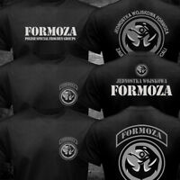 New JW Formoza Polish Navy Special Frogmen Groups Forces Army Military T-shirt