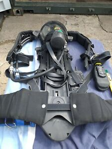 Drager breathing apparatus pss100 body  guard and receiver transponder