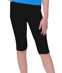 Girl's Cotton Spandex Capri Length Shorts Below Knee Sizes 6-12