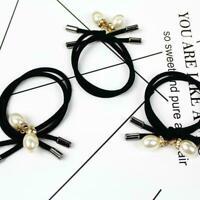 Women Fashion Hair Ties Ponytail Holder Elastic Rope Headband Headbands D9P2