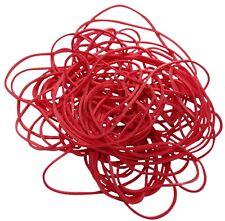 100gr bracelets rouges bandes élastiques Φ80mm 70% caoutchouc environ 195 pièces