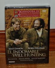 EL INDOMABLE WILL HUNTING - DVD - NUEVO - PRECINTADO - DRAMA - MATT DAMON