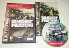 Tom Clancy's Ghost Recon COMPLETE GAME for your Playstation 2 PS2 system VG