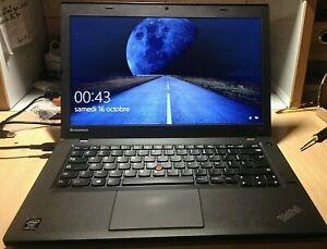 PC Lenovo Thinkpad T440 i5 Vpro 4300U 2x2,90GHz /Ram 4Go/SSD 128Go/Azerty