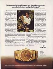Rolex day-date-Original Vieille annonce-Publicité-PUBLICITAIRES VINTAGE ADVERT