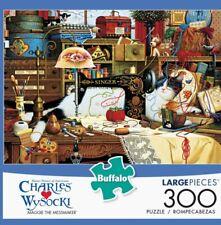 NEW CHARLES WYSOCKI LARGE 300 PIECE JIGSAW PUZZLE BUFFALO GAMES Maggie Messmaker