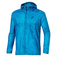Asics fuzeX Packable Running Zip Up Hooded Windrunner Jacket 129931BM 2068 RW26