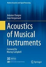 Acoustics of Musical Instruments by Antoine Chaigne: New