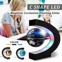 Floating Globe Magnetic Levitation World Map Levitating Science Toy Geography