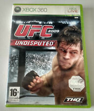 X1099-VIDEOJUEGO XBOX 360 PAL UFC 2009 Undisputed MANUAL CASTELLANO
