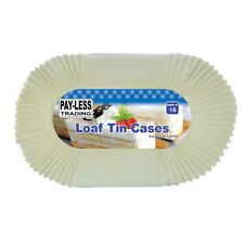 Value pack of 15 loaf tin liners Payless NEW