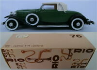 RIO # 76 Cadillac V 16 Cabriolet 1931, M 1:43
