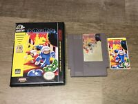 Bomberman II 2 w/Case Nintendo Nes Cleaned & Tested Authentic