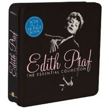 EDITH PIAF - ESSENTIAL COLLECTION (LIM.METALBOX ED.) 3 CD NEW!