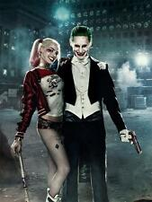 "X Suicide Squad Movie the joker V harley quinn Art Silk Decor Poster 24x36"""