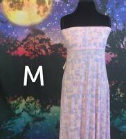 Lularoe Maxi Skirt Size M Pink Purple New with Tags