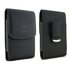 Premium Horizontal Leather Belt Clip Pouch Case For Apple Samsung LG ZTE Blu