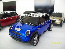 MINI CAR PORTABLE SPEAKER BLUE , I PHONE,MP3,LAPTOP,FLASHING ,UK