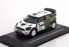 BMW MINI JOHN COOPER WORKS WRC #23 NIKARA KALLIOLEPO RALLY SWEDEN 2013 WHITEBOX
