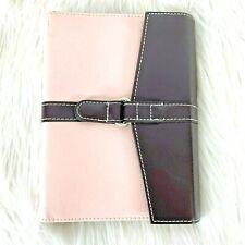 Dayrunner Organizer Planner Pink Brown No Refill 7.5 inch