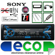 Fiat Grande Punto Sony 55x4 S CD MP3 USB Bluetooth Auto Stereo & Nero Kit Fascia