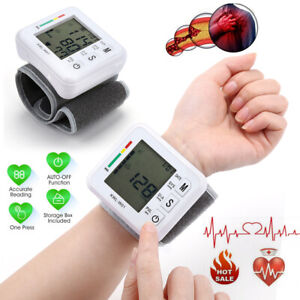 Digital Wrist Blood Pressure Monitor Heart Beat Rate Pulse BP Measure Machine